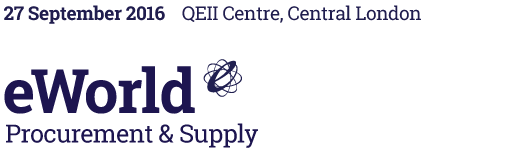 eWorld Procurement & Supply – 27 Sept 2016, QEII Conference Centre, Central London