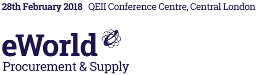 eWorld Procurement & Supply – 26 Sept 2017, QEII Conference Centre, Central London