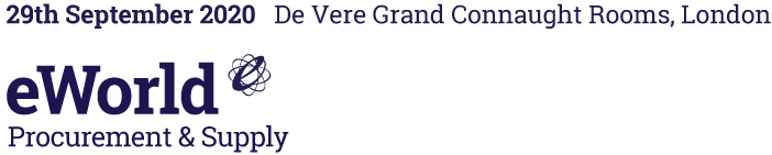 eWorld Procurement & Supply – 28th September 2020, De Vere Grand Connaught Rooms, London