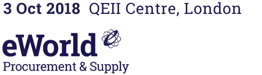 eWorld Procurement & Supply – 03 October, QEII Conference Centre, Central London